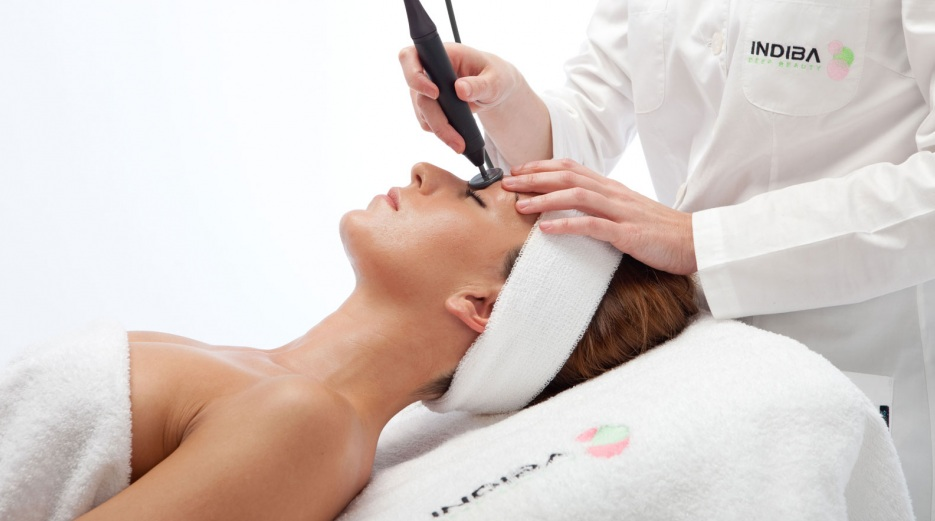 Indiba facial treatment soldeu