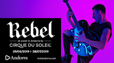 Regreso del Cirque du Soleil con REBEL, su espectáculo exclusivo para Andorra