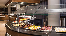 Our buffet: the three things that our customers like most