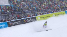 Finale of the FIS Europe Cup of alpine skiing in Andorra