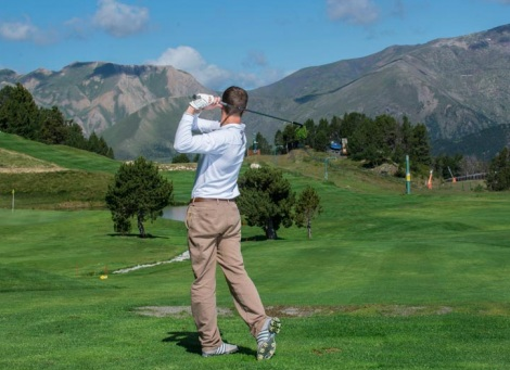 Discover the highest golf course in Europe